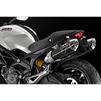 Termignoni Racing Carbon Exhaust Ducati Monster 696 And 1100 - 3