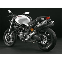 Termignoni Titanium Approved Ce Exhaust Ducati Monster 696 And 1100