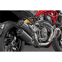 Termignoni Scarichi Carbonio Omologati Ducati Monster 1200