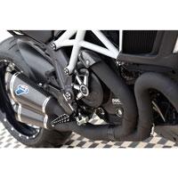 Termignoni Complete Exhaust Ducati Diavel Black - 2