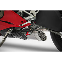 Zard Kit Slip-on Steel Ducati Panigale V4