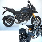 Zard Silencer Penta Approved Inox-alu Black Multistrada 1200