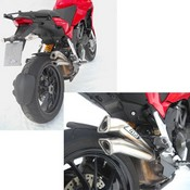 Zard Silencer V2 Approved Titanium Multistrada 1200