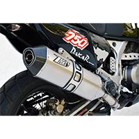 Zard Steel Racing Silencer Honda Africa Twin