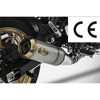 Zard Full Kit Inox Exhaust Ce Kawasaki Z900rs
