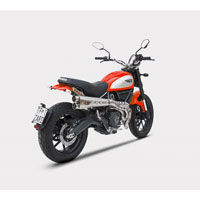 Zard Ducati Scrambler Kit Ce Approved Full High Db Killer - 2