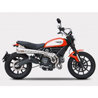 Zard Ducati Scrambler Kit Ce Approved Full High Db Killer