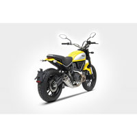 Zard Ducati Scrambler Exhaust Low Db Killer Ce Approved - 2