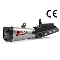 Zard Slip On Steel Euro 4 Triumph Street Triple 765