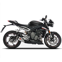 Zard Slip On Steel Racing Triumph Street Triple 765