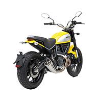 Zard Slip On Acier Euro 3 Ducati Scrambler 800