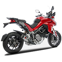 Zard Slip On Steel Euro 4 Ducati Multistrada 1260