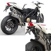 Zard Scarico Completo 2>1>2 Inox-titanio Omologato Catalizzato Streetfighter