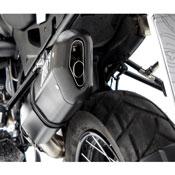 Zard Silenziatore Inox-alluminio Nero Bmw R 1200 Gs 2004