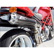 Zard Kit Collettori + N.2 Silenziatori Alti Ducati Monster S4r