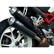 Zard N.2 Silenziatori Sovrapposti Ducati Monster S2r 800 '06-'08