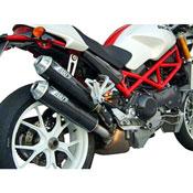 Zard N.2 Silenziatori Sovrapposti Ducati Monster S4rs T. Stretta