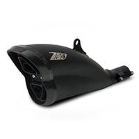 Zard Silenziatore Inox Omologato Nero + Fondello Carbo Ducati Diavel