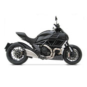 Zard Stahl carbon genehmigt CE Ducati Diavel - 2