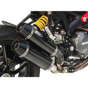 Zard N.2 Silenziatori Sovrapposti Ducati Monster 1100 Evo