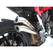 Zard Silenziatore Modello V2 Ducati Multistrada 1200