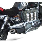 Zard Kit Silenziatori Penta Inox-carbonio Triumph Rocket 3