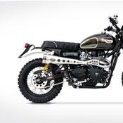 Zard Kit Completo Edizione Speciale Triumph Scrambler Omologato