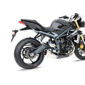 ZARD MUFFLER LOW SHORT  TRIUMPH SPEED TRIPLE 2013