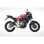 Kit Completo Zard 2>1 Inox Racing Yamaha Mt-07