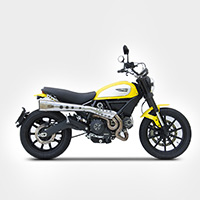 Zard Full Exhaust High Kit Ducati Scrambler