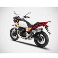 Zard Slip On Moto Guzzi V85 Tt E4 Stainless Steel