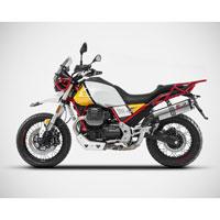 Zard Terminale Moto Guzzi V85 Tt Euro 4 Inox