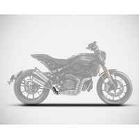 Zard Stainless Steel Racing Decatalyzer Indian Ftr 1200