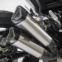 Zard Titanium Racing Slip Ons For Indian Ftr 1200