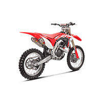 Akrapovic 2 Slip On Titan Racing CRF450R 2018 - 2