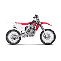 Akrapovic 2 Slip On Racing Titanium Crf250r 2017