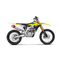 Escape Akrapovic Evolution titanio RMZ 450 2018
