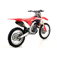 Silenciador Arrow Thunder titanio CRF450 2017