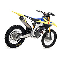 Silenciador Arrow Race-Tech Titanio RMZ 450 2018