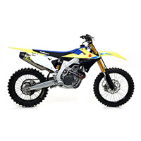 Silenciador Arrow Race-Tech aluminio RMZ 450 2018