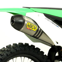 Arrow Terminale Off-road Race-tech Titanio Kawasaki Kx 450 F 12/13