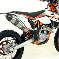 Arrow Complete Kit Mx Competition Ktm Exc-f- 250 14/15 Exc 350 12