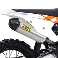 ARROW SILENCERS OFF-ROAD RACE-TECH TITANIUM KTM SXF 250 450 2016