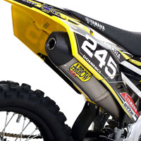 Arrow Terminale Off-road Race-tech Titanio Yamaha Yz 250 F 14/16