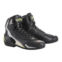 Alpinestars Sp-v2 Riding Shoes Nero Giallo Fluo