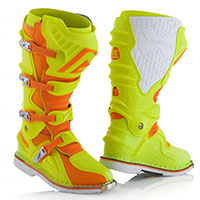 Bottes Acerbis X-move 2.0 Jaune Orange