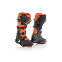 Acerbis X-Pro V. Black Orange Boots 2018