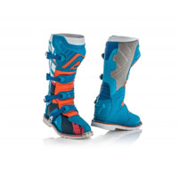 Acerbis X-pro V. Blue Orange Boots 2018