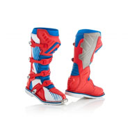 Acerbis X-pro V. Blue Red Boots 2018