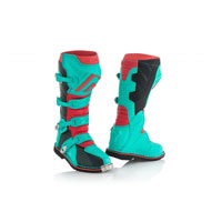 Acerbis X-pro V. Green Red Boots 2018